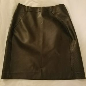 H&M leather/like skirt